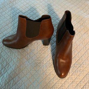 Barney's New York leather booties